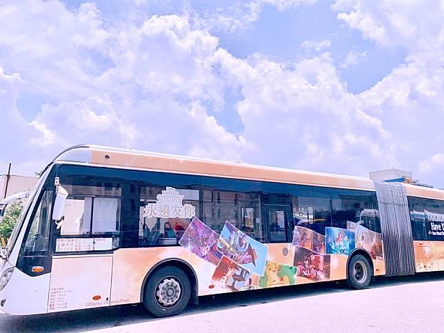 中市府宣傳彩繪公車 議員質疑能提升運量嗎?